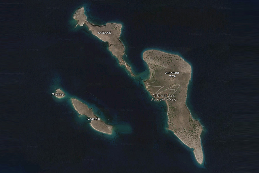 Kalanisa - Alkyonides Islands