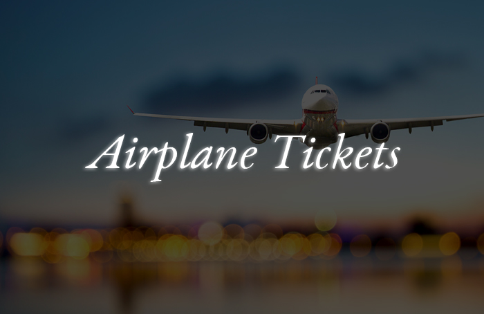 airplane-tickets vip tours