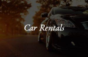 car rentals vip tour